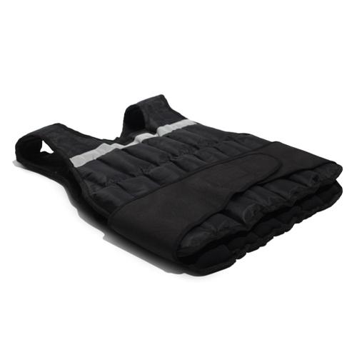 Zátěžová vesta Jordan - černá - 5 kg, 1 ks