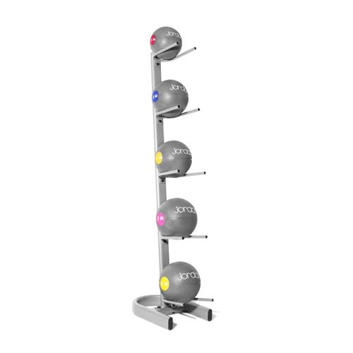 Vertikální stojan JORDAN pro 5 medicinbalů - , 1 ks