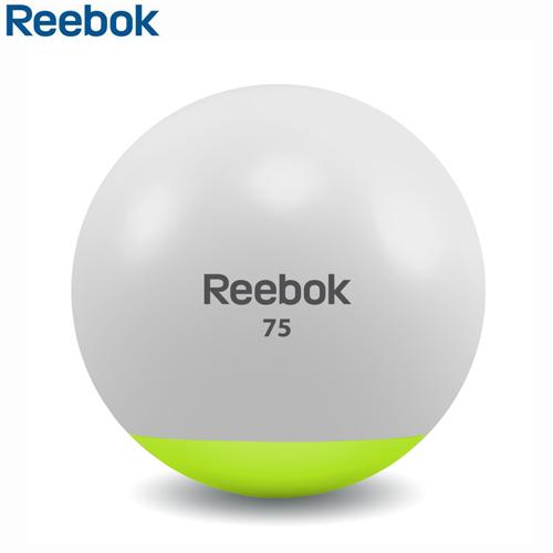 Gymnastický míč REEBOK dvoubarevný 75 cm - , 1 ks