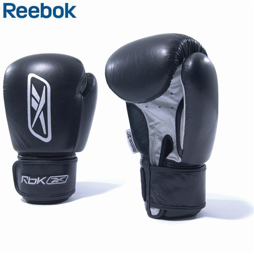 Tréninkové boxovací rukavice REEBOK - černé - 12OZ, 1 pár