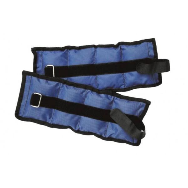 Zátěž zápěstí nylon - černá, 2x 2,25kg
