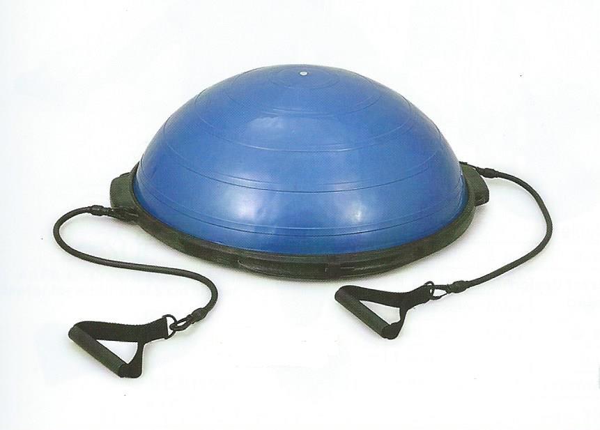 Balanční podložka Dome SUPER 60cm - půlbalón - modrá,