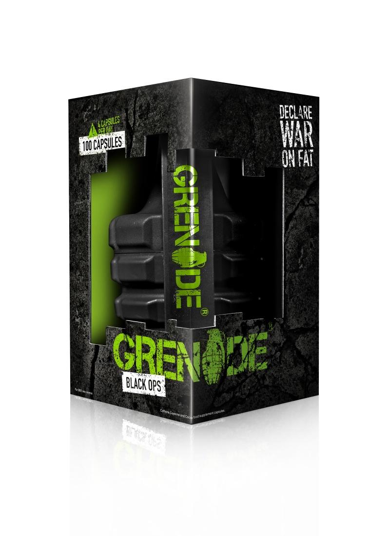 GRENADE BLACK OPS - , 100 kapslí + 2 x Blistr Grenade (4 dávky)