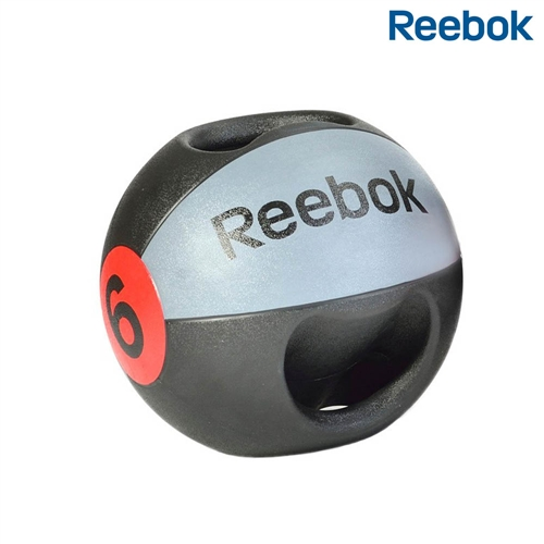 Medicinbal dvojitý úchop Reebok Professional - , 6 kg