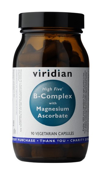 High Five B Complex with Magnesium Ascorbate - , 90 kapslí