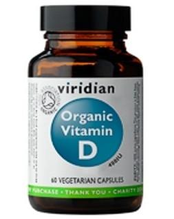 Organic Vitamin D 60 kapslí - , 60 kapslí