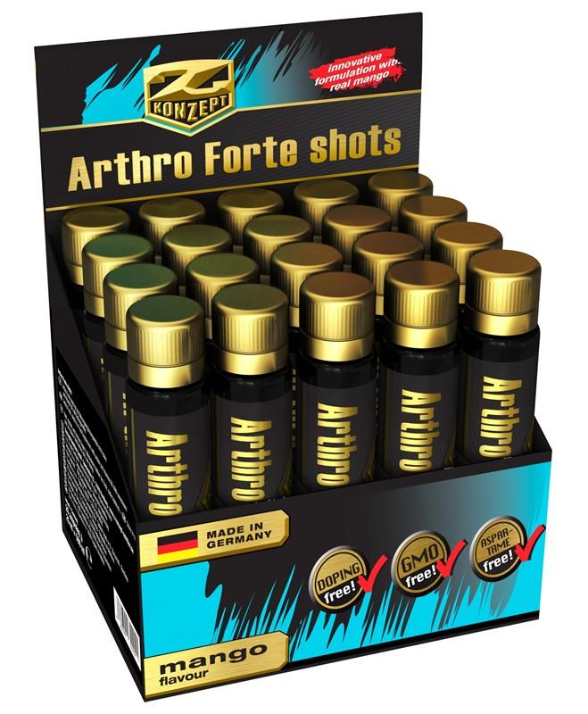 Arthro Forte Shots 20 ampulí mango - , 20 x 25 ml