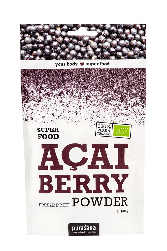 Acai Berry Powder BIO 100g - 100 g, 1 ks
