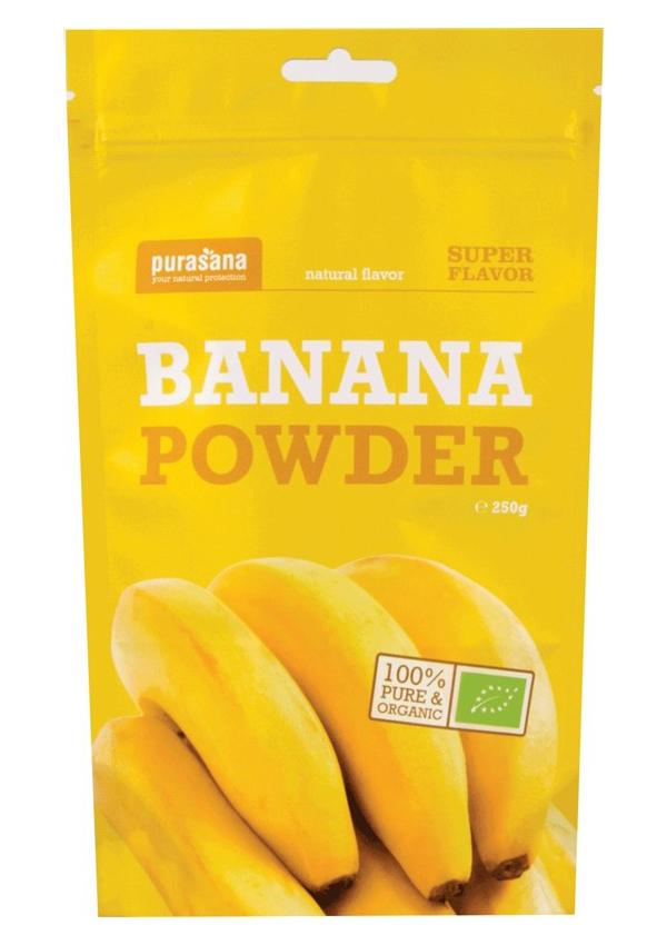 Banana Powder BIO 250g - 250 g, 1 ks