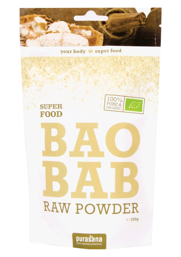 Baobab Powder BIO 200g - 200 g, 1 ks