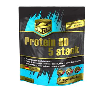 Protein 80 5 Stack - čokoláda