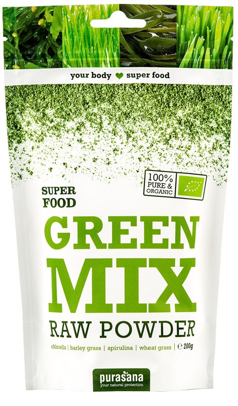 Green Mix Powder BIO 200g - 1 ks, 200 g