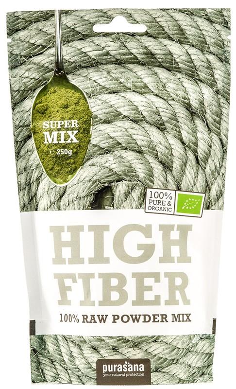 Higher Fiber Mix BIO 250g - 1 ks, 250 g