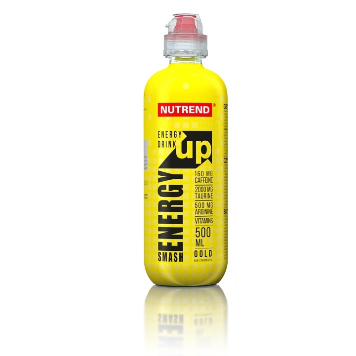 SMASH ENERGY UP - green ( bez cukru ), 500 ml
