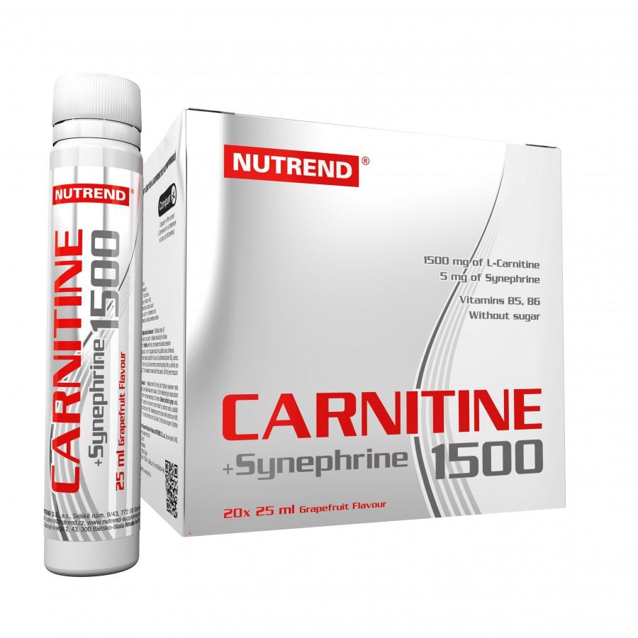 CARNITINE 1500 + SYNEPHRINE  - grep, 20 x 25 ml