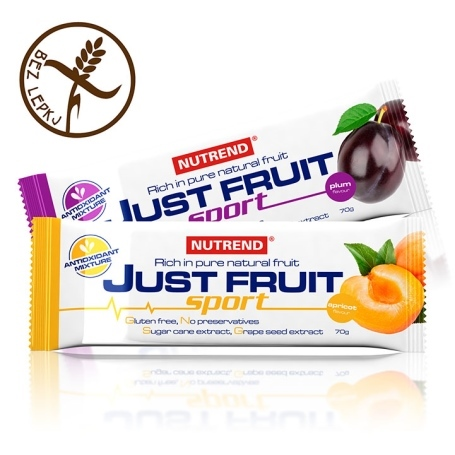 JUST FRUIT SPORT - švestka, 70 g