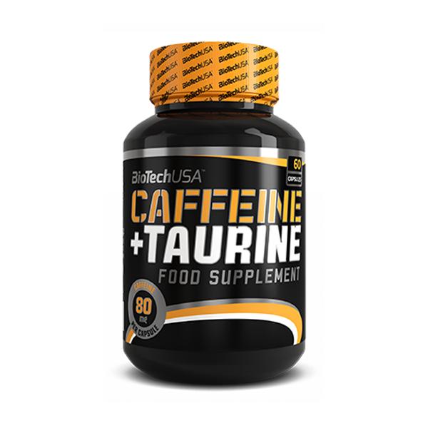 Caffeine + Taurine 60 kapslí - , 60 kapslí