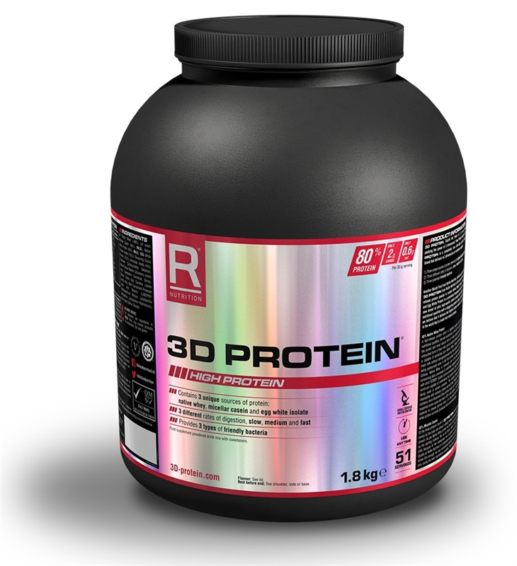 3D Protein - čokoláda, 1800 g