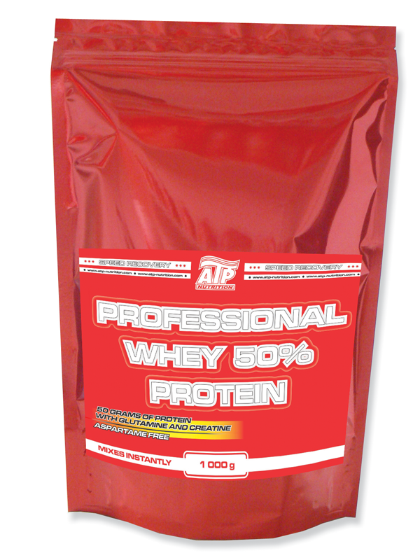 Professional Whey Protein 50% 1 000 g - jahoda, 1000 g