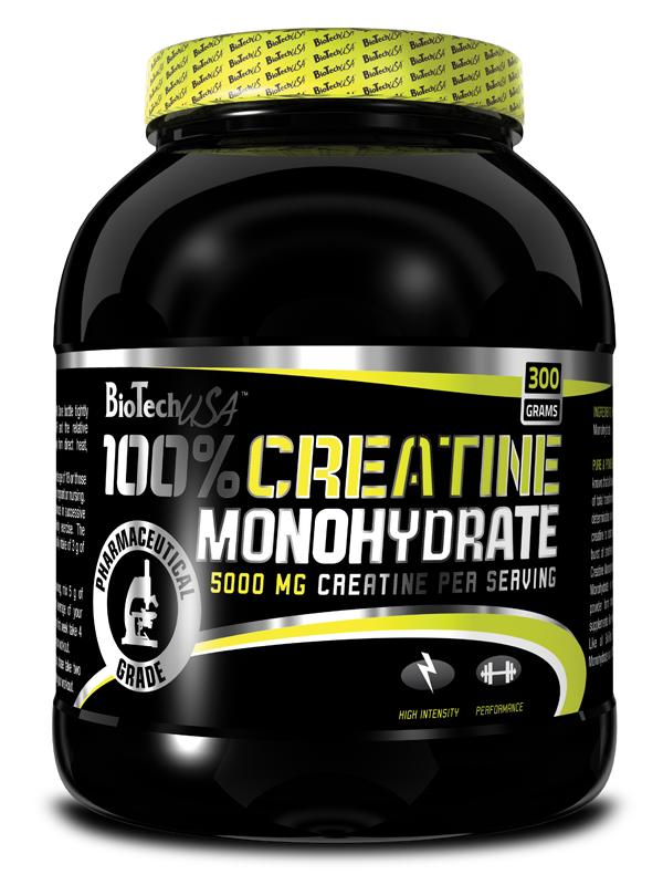 100% Creatine Monohydrate - 300 g - , 300 g