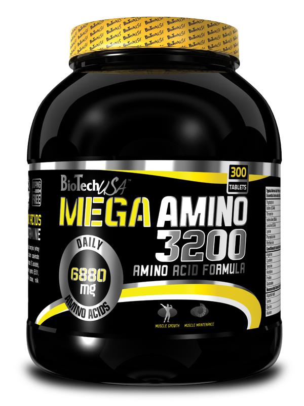 Mega Amino 3200 - 300 tablet - , 300 tablet
