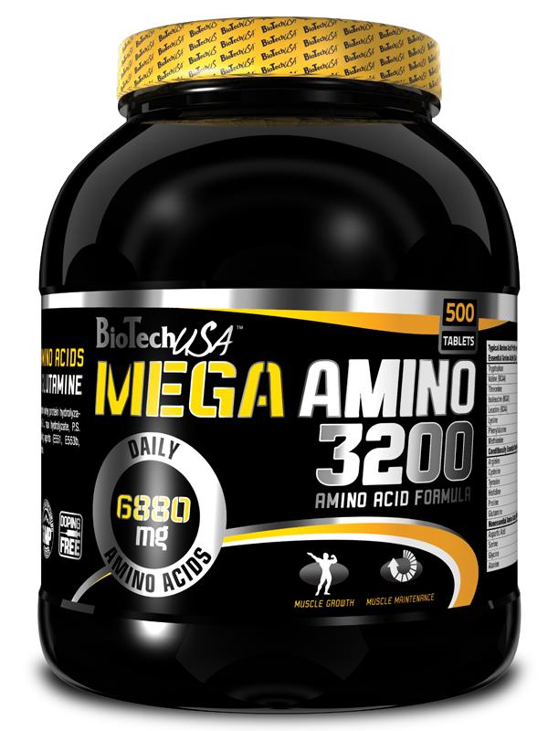 Mega Amino 3200 - 500 tablet - , 500 tablet