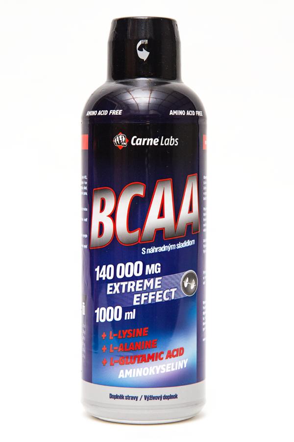 Mega BCAA Extreme effect - 1000 ml - pomeranč